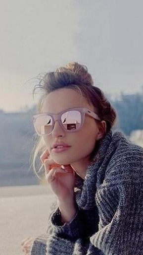13b2d16c21 Quay - After Hours - Sunglasses - Pink   Pink