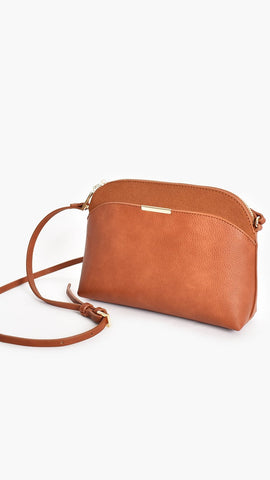 Cynthia Crossbody Bag - Tan