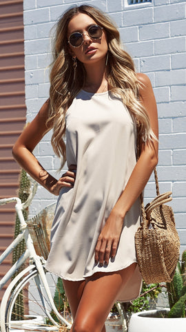 Harrison Dress - Beige