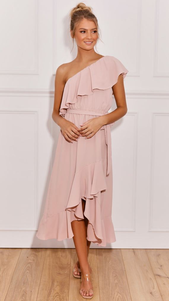 Aisha Dress - Blush
