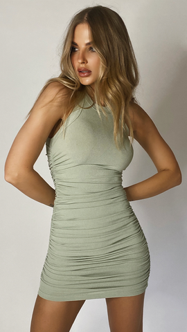 Essentials Dress - Sage