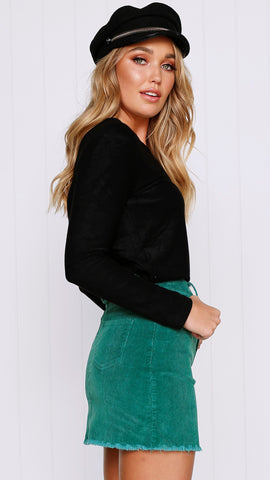 Dallas Skirt - Emerald