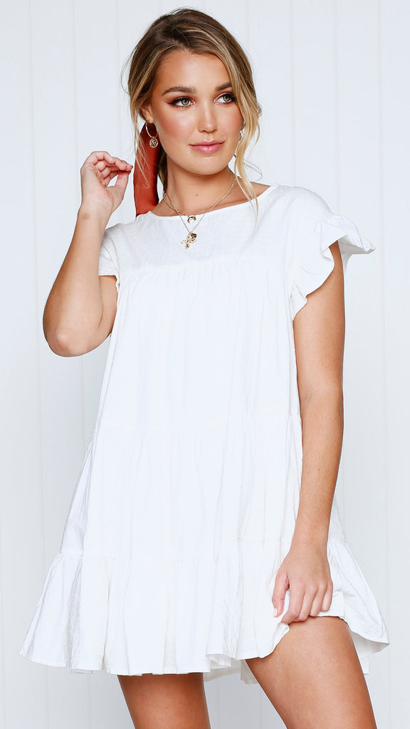 Ambience Dress - White