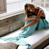 MERMAID BLANKET - BLUE
