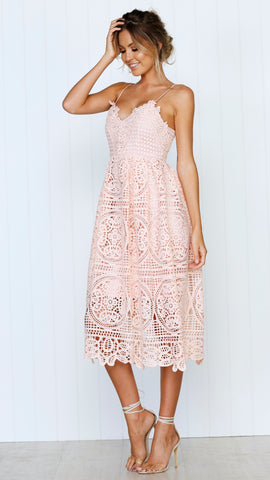 Dreaming of you dress - Peach