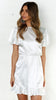 Looking Glass Dress - white
