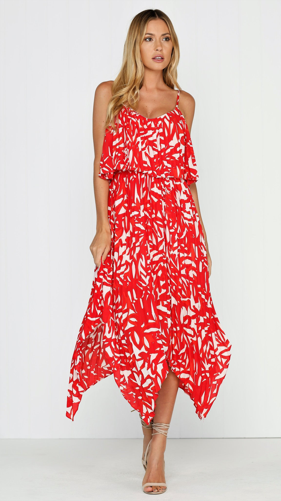 Jemima Dress - Red
