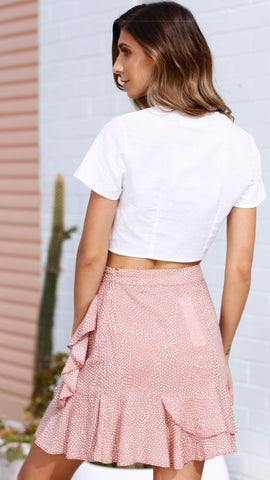 Rosewood Mini Skirt