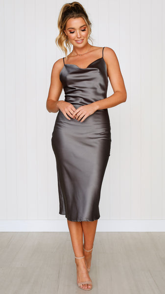 Jewels Dress - Steel
