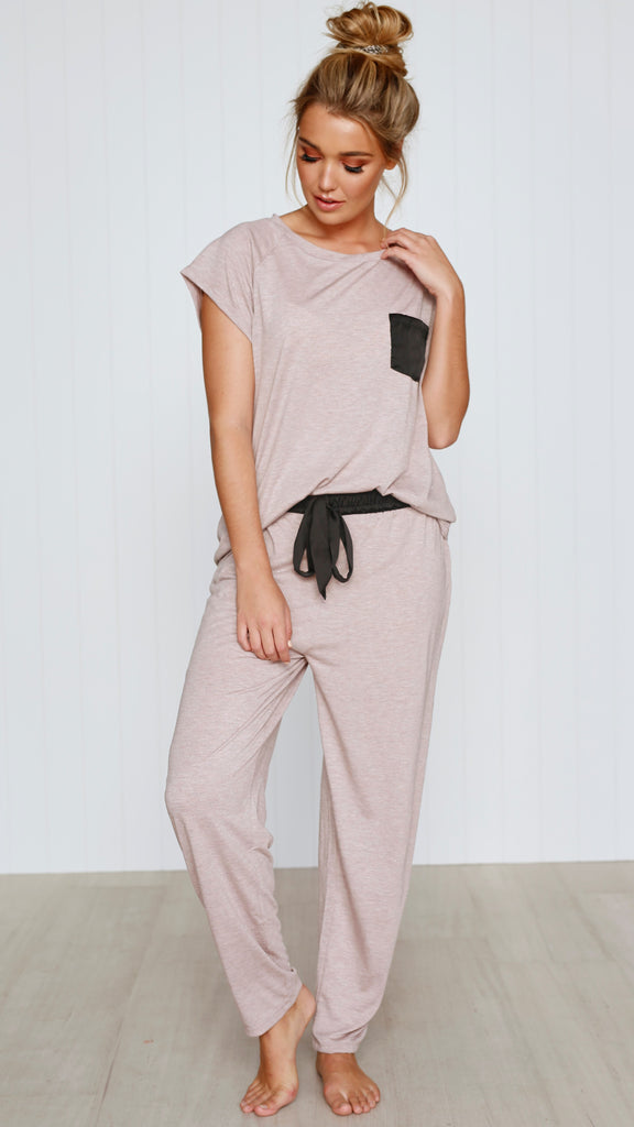 Mars PJ Set - Dusty Rose