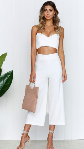 Sophie Pants - White