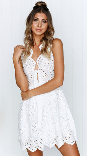 DARE TO DREAM DRESS - White