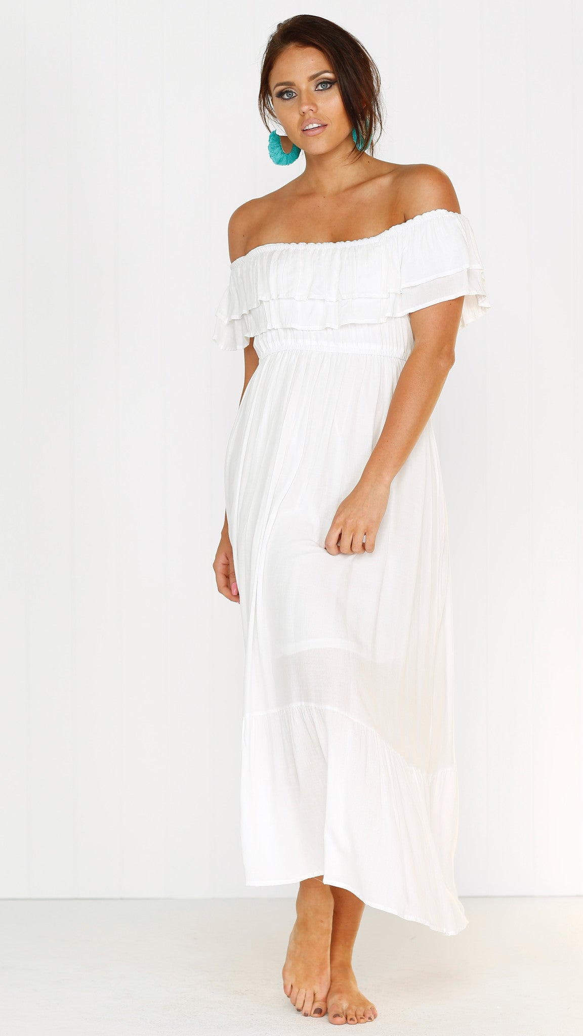 Only Love Maxi - white