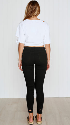 August Jeans - Black