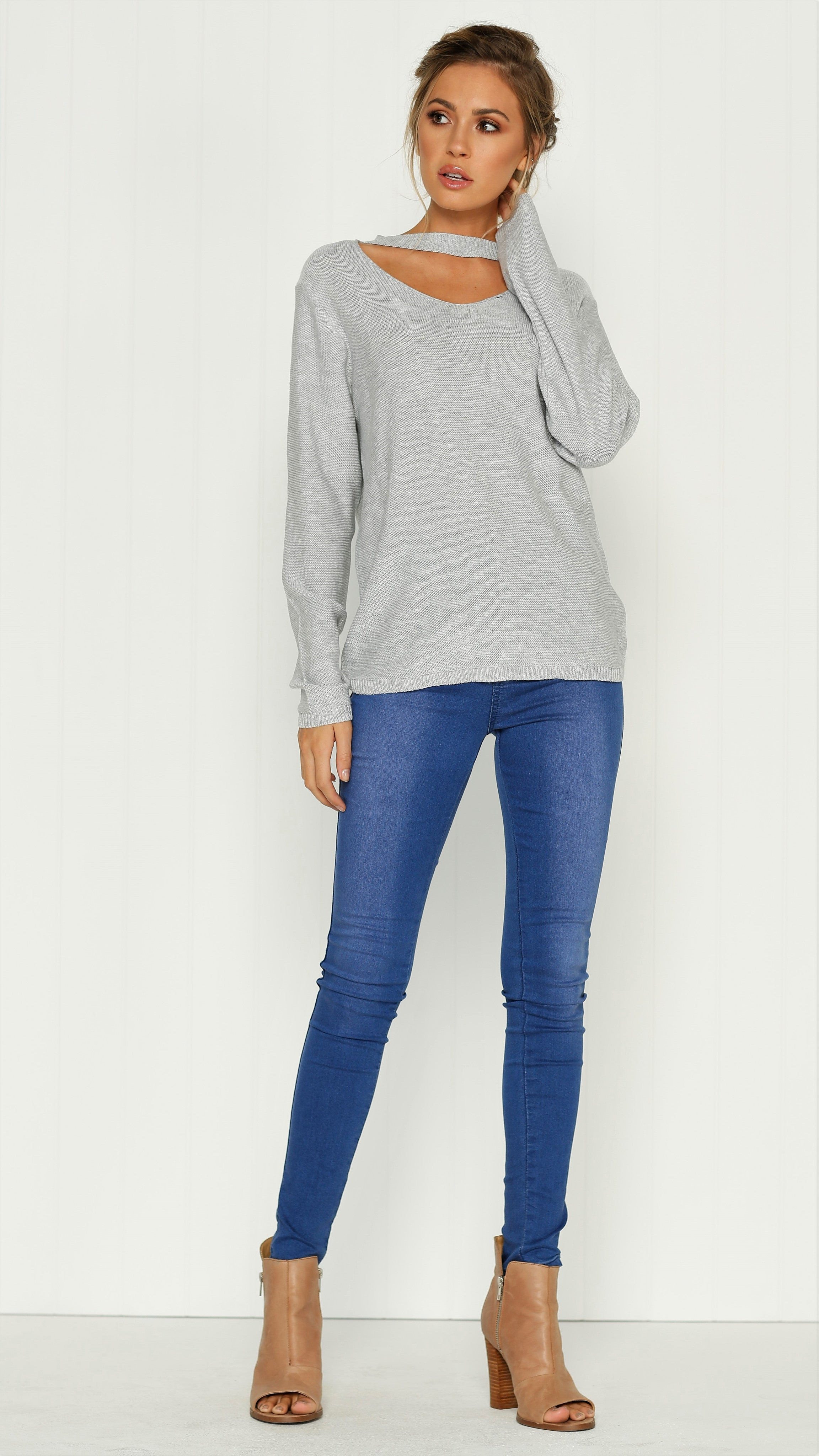 Willow Knit - Grey