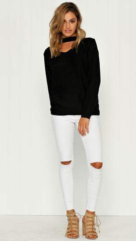 Willow Knit - Black