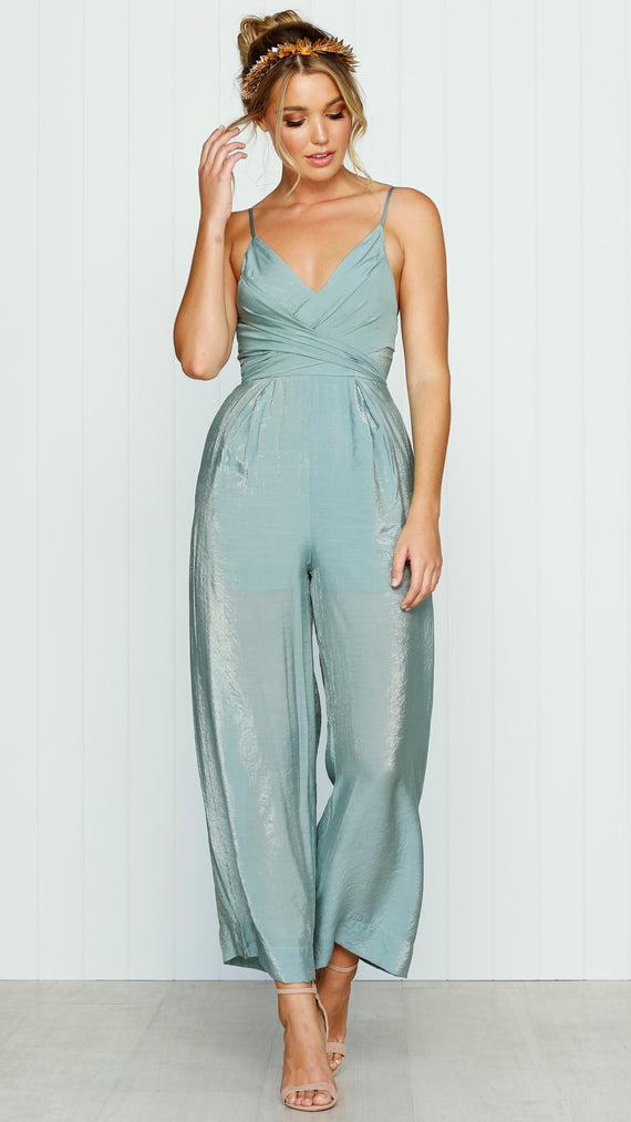 The Journey Jumpsuit - Olive