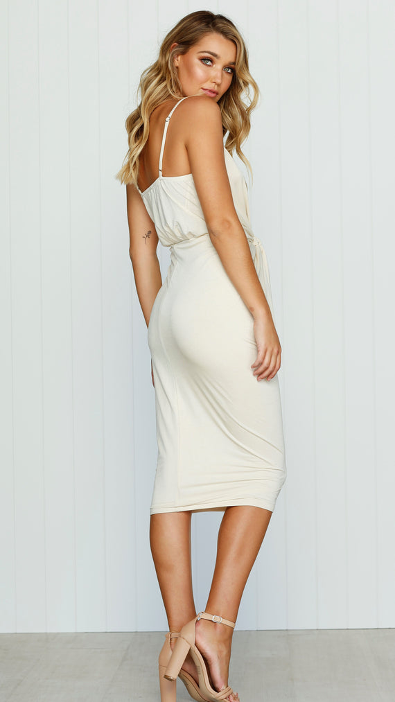 Bella Dress - Sand