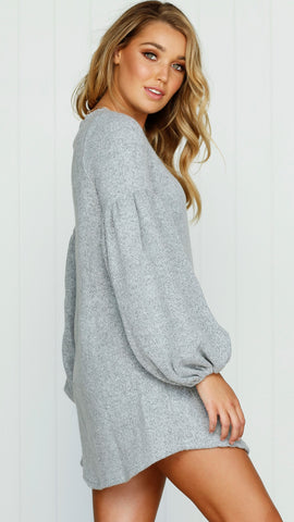 Sterling Knit Dress - Grey