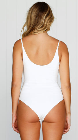 Hotline Bodysuit - White