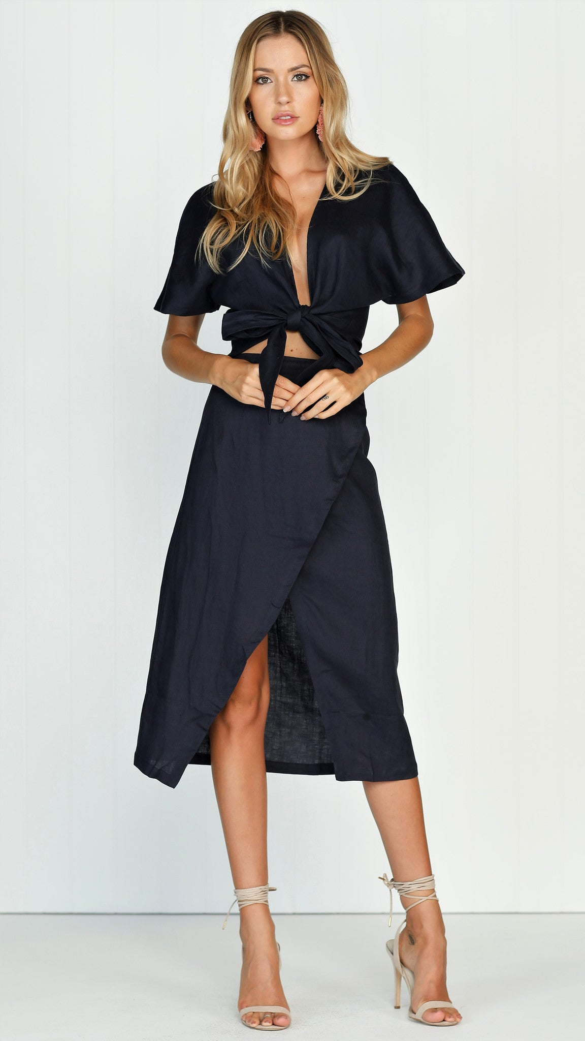 Hush Skirt - Navy