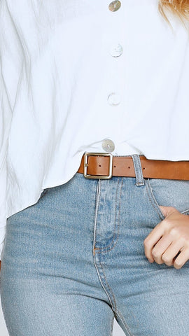 Sloane Belt - Brown