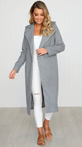 Harlem Coat - Grey