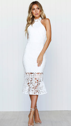 Roxy Dress - White