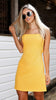 HOLLIE DRESS - YELLOW