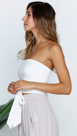 Claudia Top - White