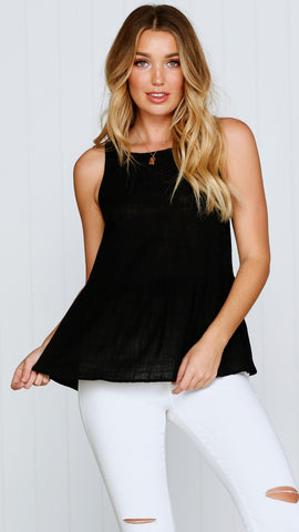 Libson Top - Black