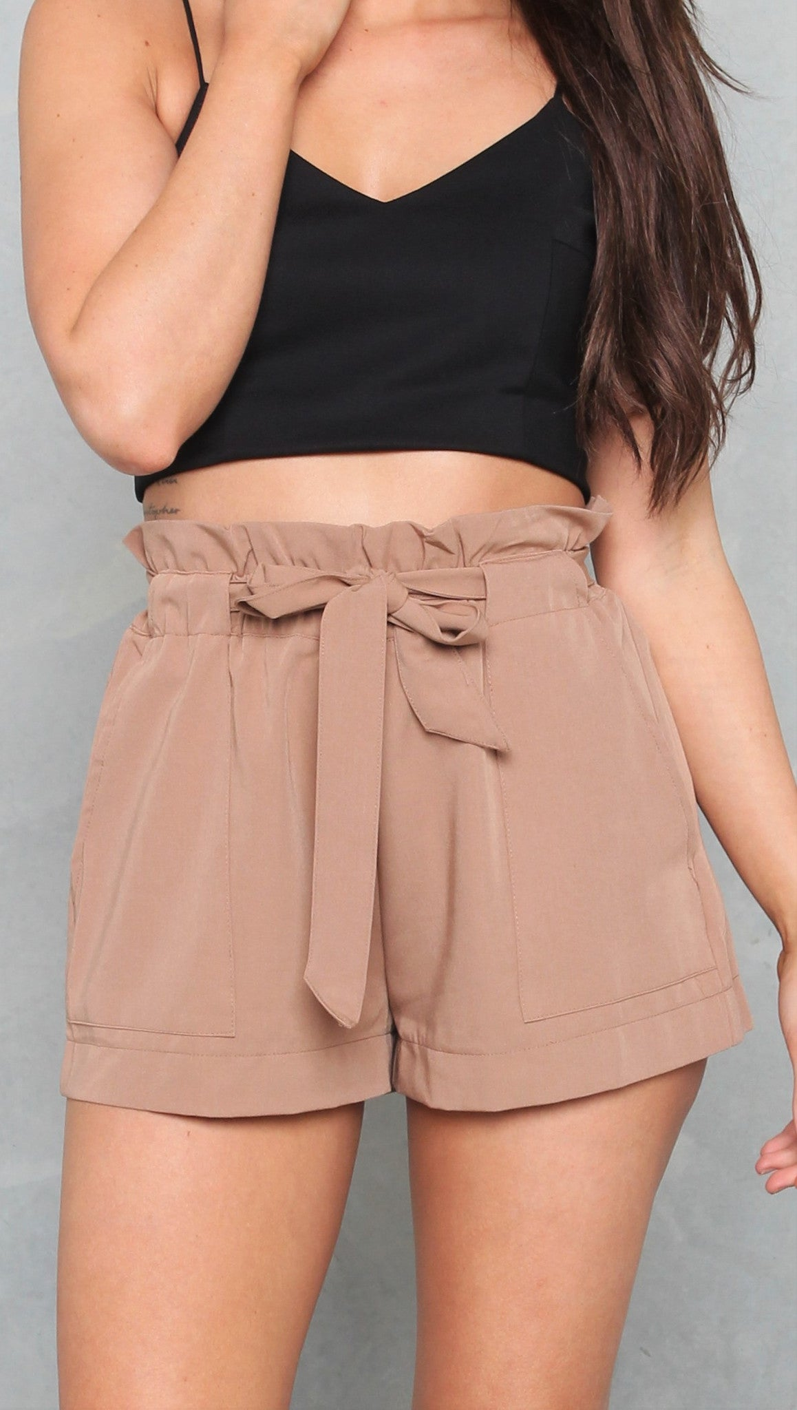 Azilo Shorts - Tan - Restocked