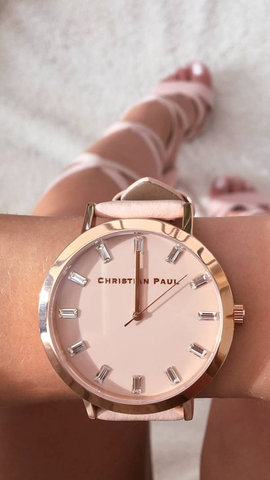 Christian Paul watches