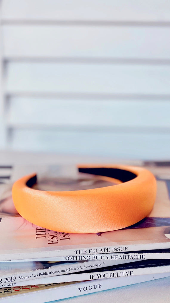 Erika Headband - Electric Orange