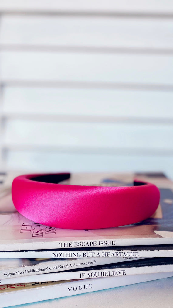 Erika Headband - Hot Pink