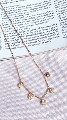 Marisa Necklace - Gold