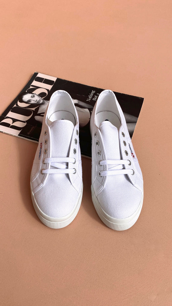 Superga 2730 COTU - PURE WHITE