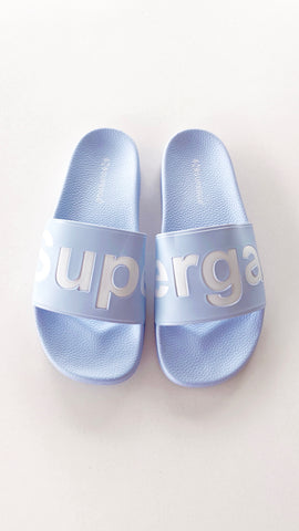 Superga Slides 1908 PUU - Azure