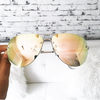 QUAY - MUSE SUNGLASSES - Gold/Pink