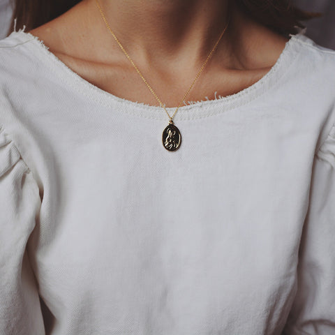 Saint Necklace - Silver