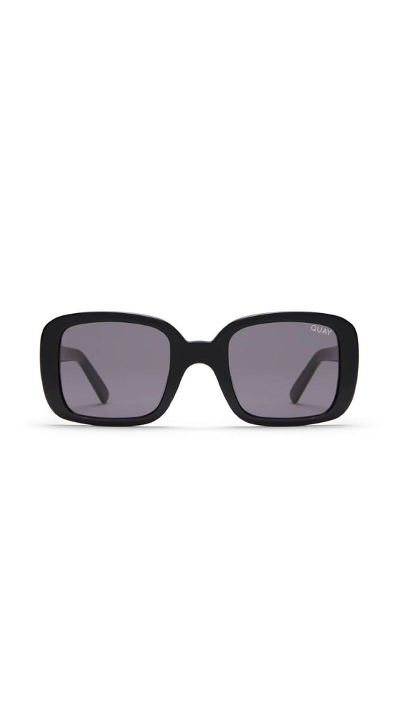 Quay - 20's - Sunglasses - Black/Smoke