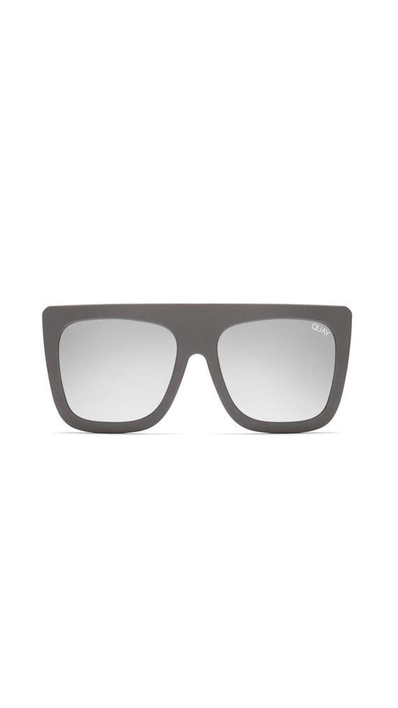 QUAY - CAFE RACER - SUNGLASSES - GREY/SILVER