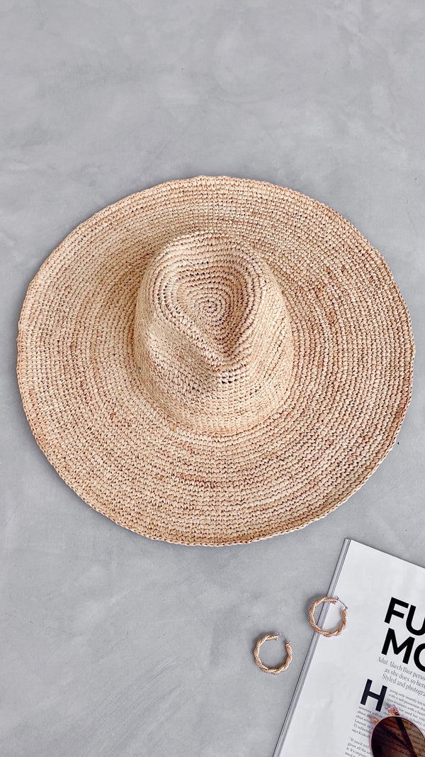 Cassis Hat - Natural
