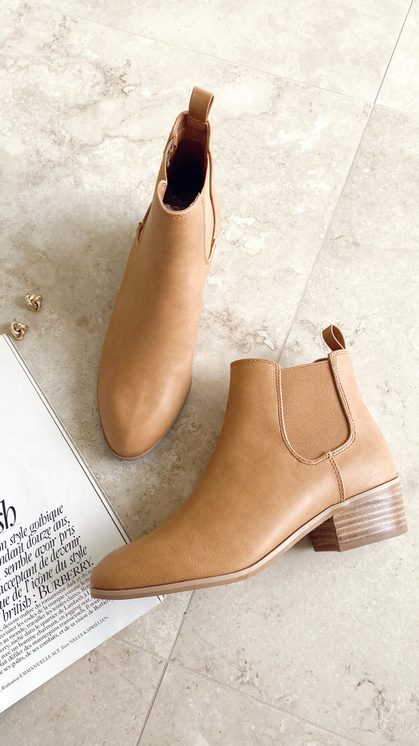 Zola Boots - Camel