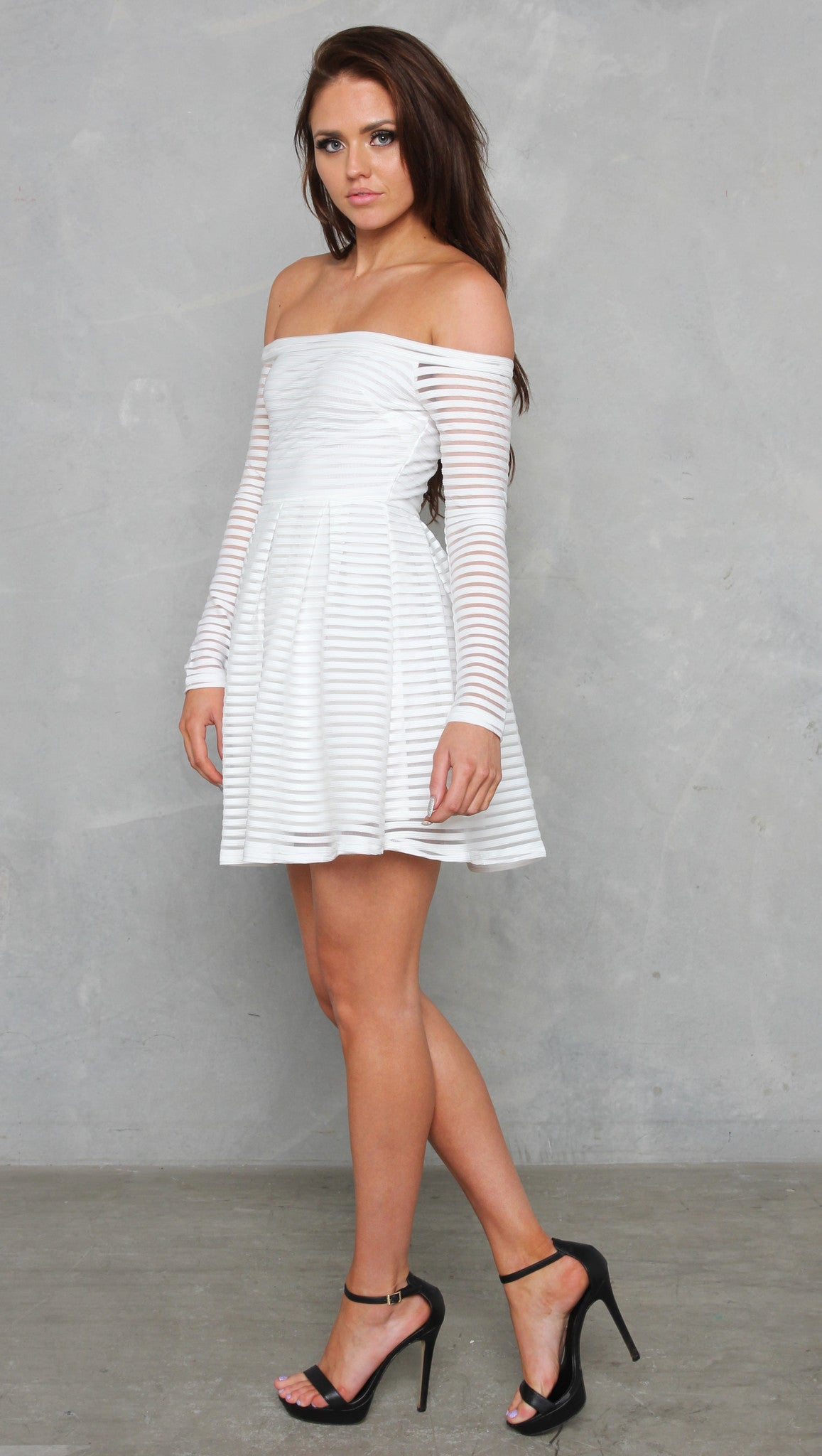 Element Dress - White