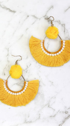 Filly Earrings - Yellow