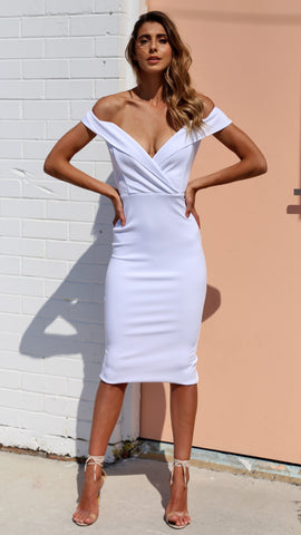 Aura Dress - White