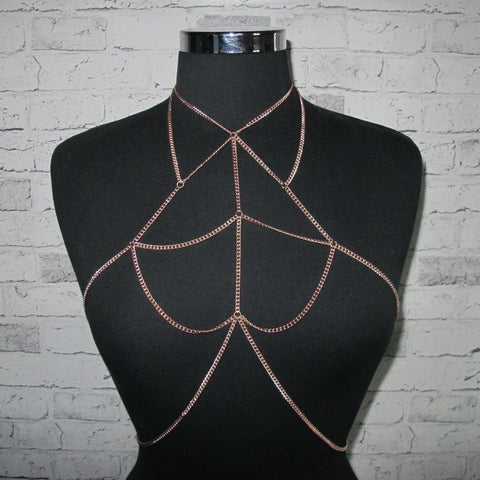 Fleetwood Body Chain - Rose Gold