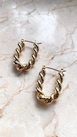 Raquel Hoops - Gold