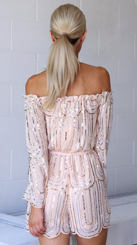 Barely Blushed Playsuit